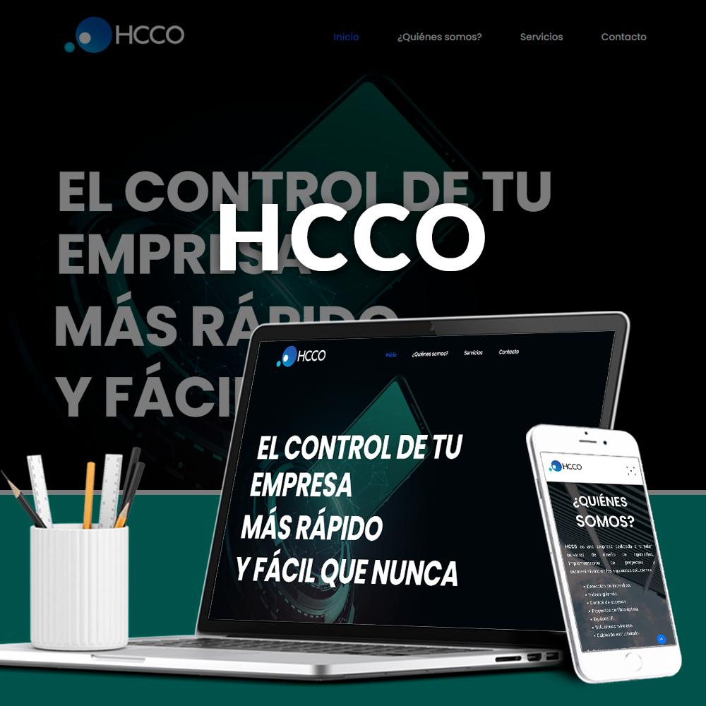 Sitio web HCCO