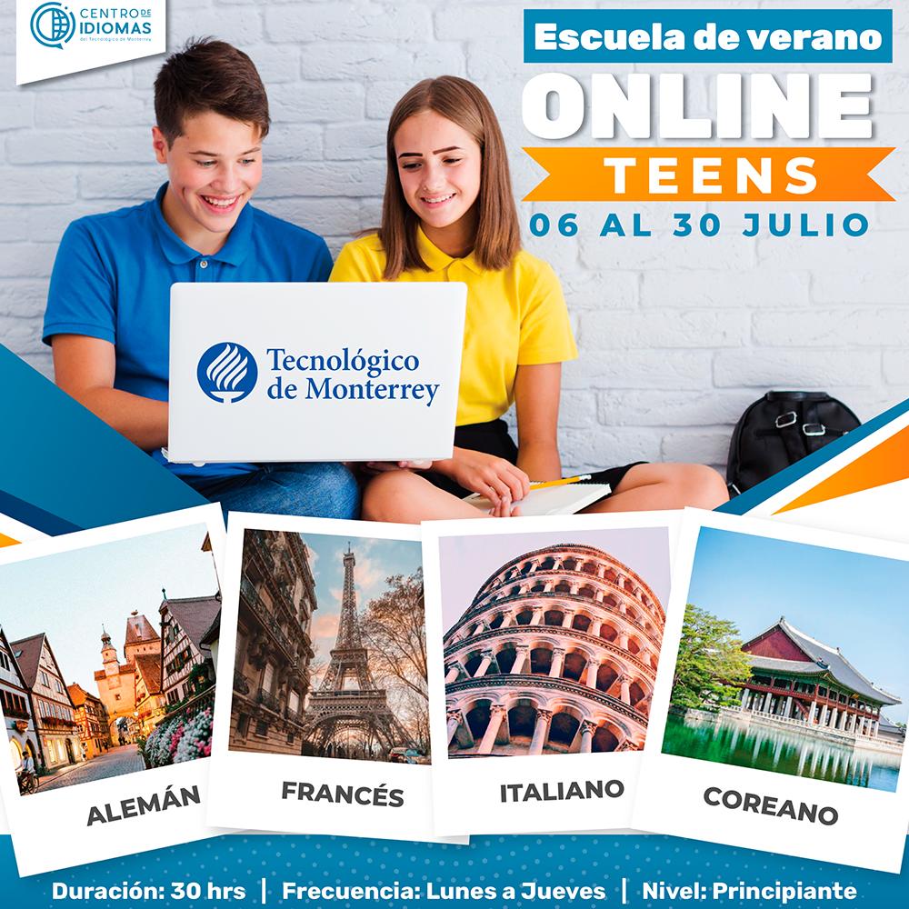 Centro de Idiomas Curso Teens